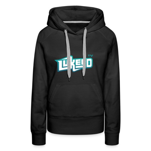 lukeyD TV Logo - Women's Premium Hoodie