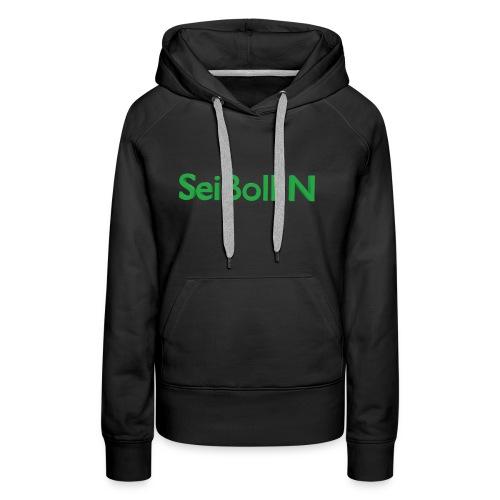 SeiBoll N - Frauen Premium Hoodie