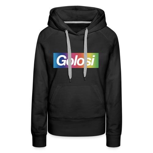 GOLOSI - Felpa con cappuccio premium da donna