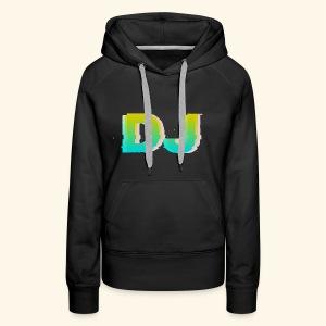 Dj - Bluza damska Premium z kapturem