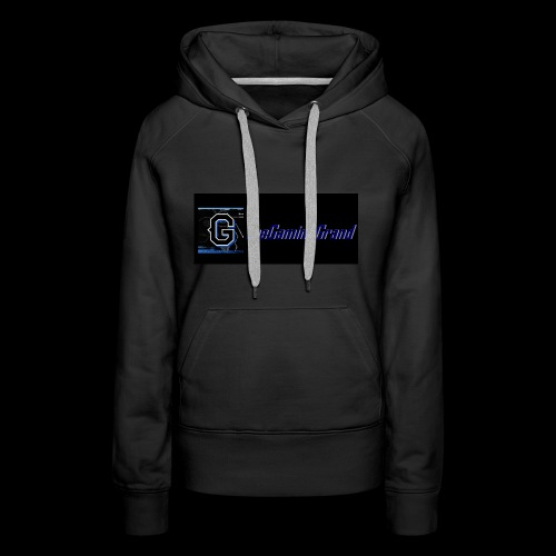grand picture for black - Women's Premium Hoodie