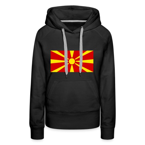 Macedonia Flag - Frauen Premium Hoodie