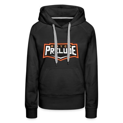 Clean logo - Vrouwen Premium hoodie