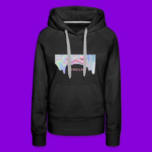 CYRILLIC NEON GLUE - Women's Premium Hoodie