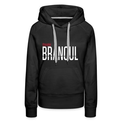 Branoul Logo rood wit - Vrouwen Premium hoodie