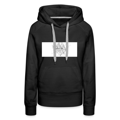 scrible out the hatters - Women's Premium Hoodie