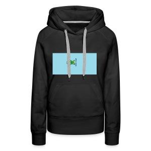 Men's T-Shirt with Turtle Design - Women's Premium Hoodie