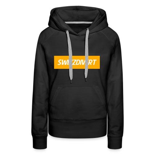 SwizzDivert Banner - Frauen Premium Hoodie