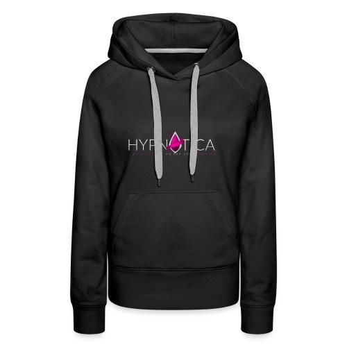 HYPNOTICA BLANC - Sweat-shirt à capuche Premium pour femmes
