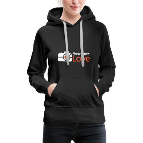 Fotografie Liebe ROT - Frauen Premium Hoodie