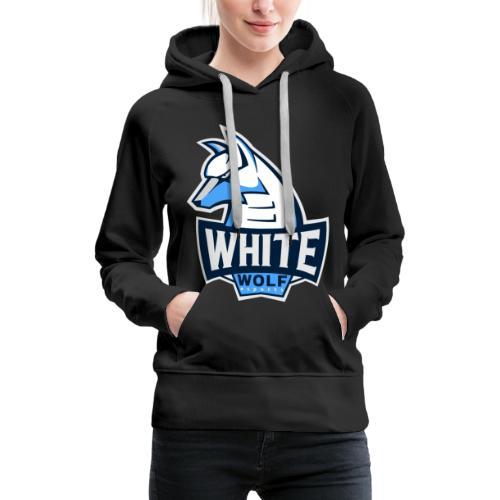 White Wolf Logo - Frauen Premium Hoodie