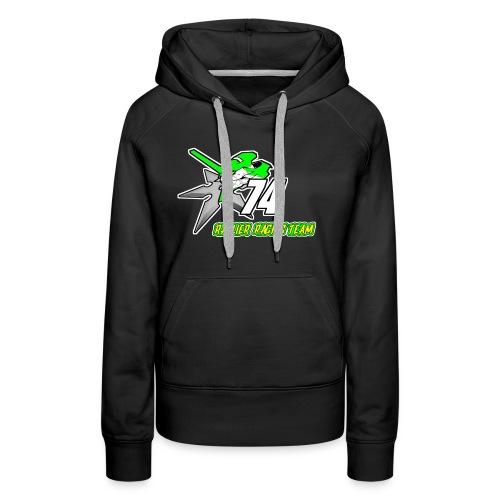 Rallier Racing Team - Sweat-shirt à capuche Premium pour femmes