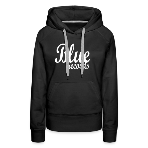 Blue Records - Women's Premium Hoodie