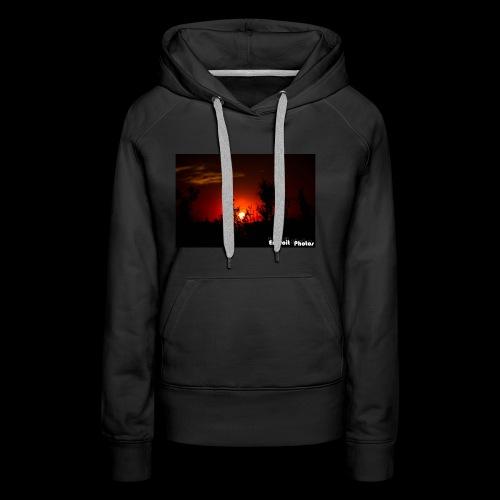 Sonnenuntergang Silhouette - Frauen Premium Hoodie