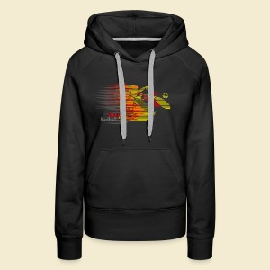 Radball | Earthquake Germany - Frauen Premium Hoodie