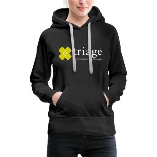 Triage Logo - Frauen Premium Hoodie