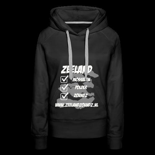 Mosselen - Polder - ZoundZ #girlZ edition - Vrouwen Premium hoodie