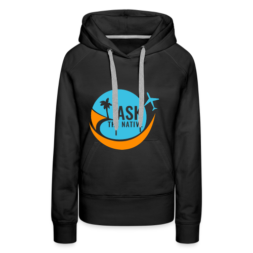 Ask the Native Original Logo - Vrouwen Premium hoodie