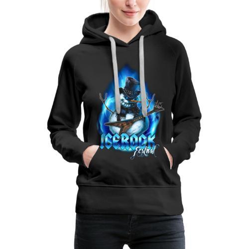 Snowman Evil - Frauen Premium Hoodie