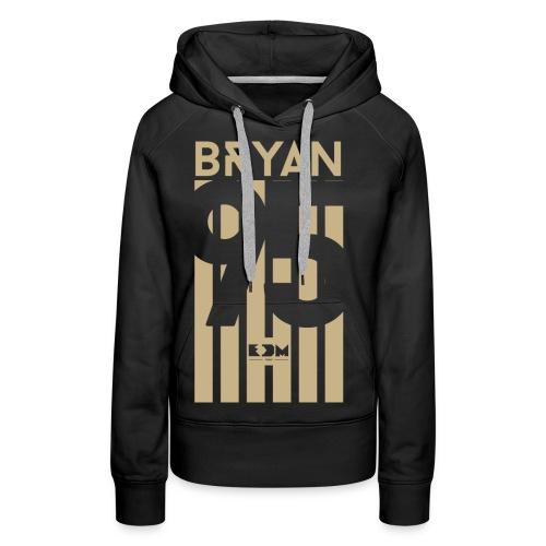 Bryan - Felpa con cappuccio premium da donna