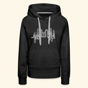 Rock On! - Frauen Premium Hoodie