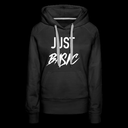 Just Basic - Frauen Premium Hoodie