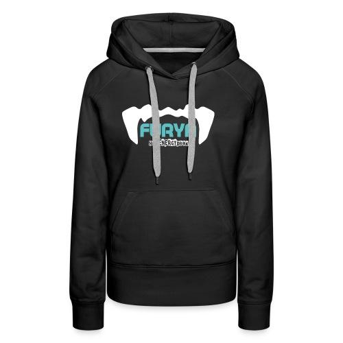 Logo Furya - Sweat-shirt à capuche Premium pour femmes