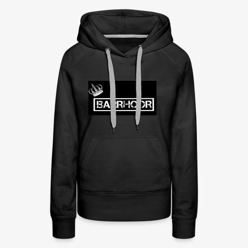 BARRHOOR - Vrouwen Premium hoodie