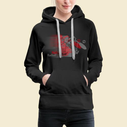 Radball | Earthquake Red - Frauen Premium Hoodie