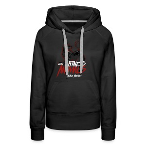 Fitness Animals - Black Panther - Frauen Premium Hoodie