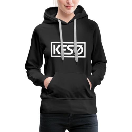 KESO DJ - Sweat-shirt à capuche Premium pour femmes