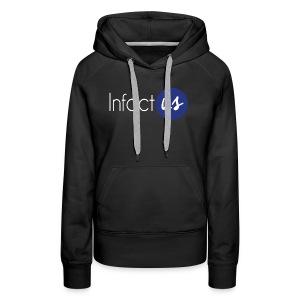 InfactUS Classic - Sweat-shirt à capuche Premium pour femmes