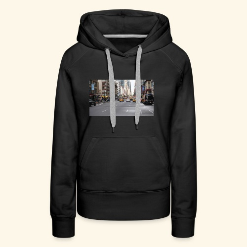 New York Traffic - Frauen Premium Hoodie