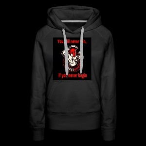 You will never win - Frauen Premium Hoodie