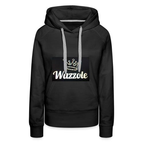 Wazzole crown range - Women's Premium Hoodie