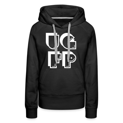 UG FP Acronym but arranged differently - Women's Premium Hoodie
