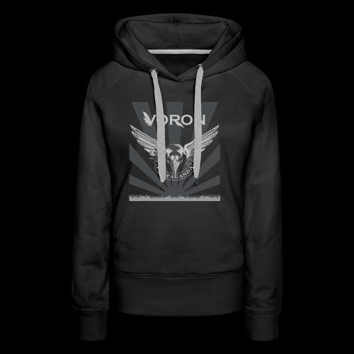 Voron - Propaganda - Sweat-shirt à capuche Premium pour femmes