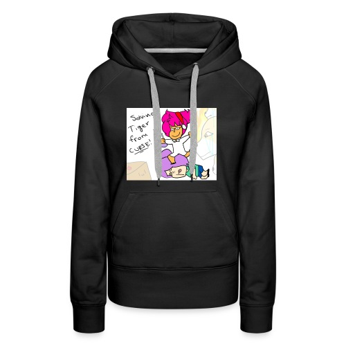 Saving Tiger Toast From Curse! - Women's Premium Hoodie