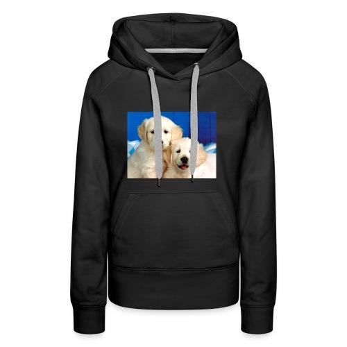 Golden labs pups - Women's Premium Hoodie