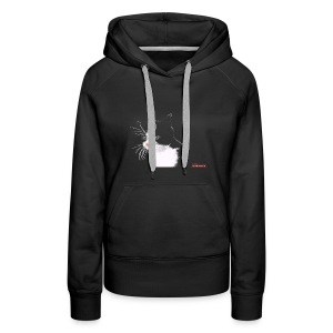 Cat FEMALE - Women's Premium Hoodie