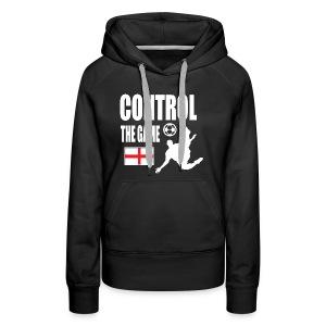 England control the game Russia 2018 - Women's Premium Hoodie