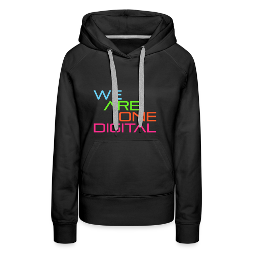 Official We Are One Digital Text Design - Women's Premium Hoodie