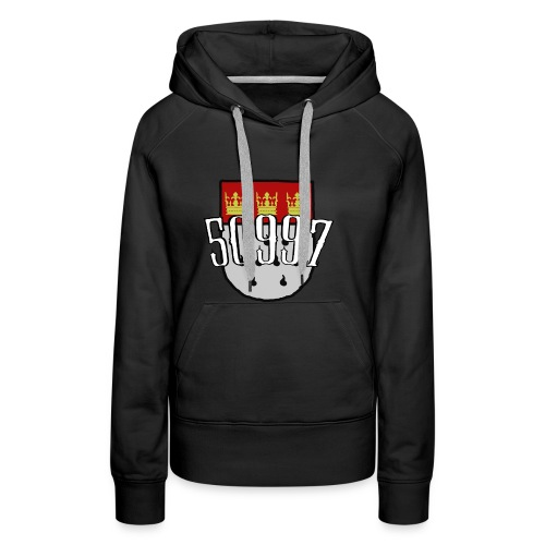Köln Veedel 50997 - Frauen Premium Hoodie