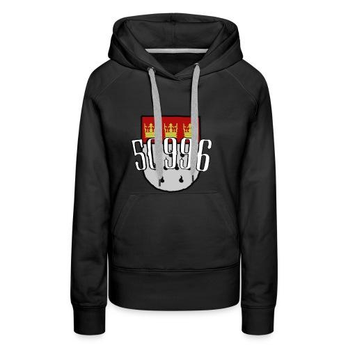 Köln Veedel 50996 - Frauen Premium Hoodie