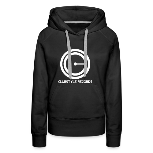 ClubStyle Records Logo - Vrouwen Premium hoodie