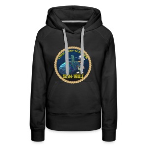 Command Badge SSN-1983 - Women's Premium Hoodie