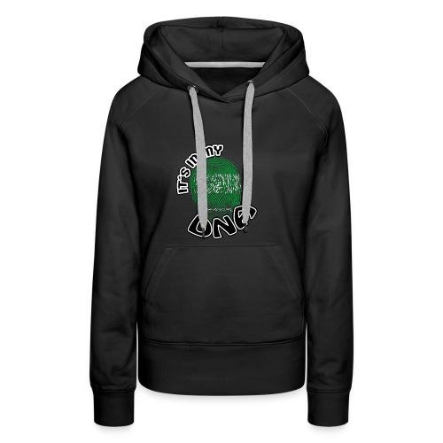 Geschenk Its in my dna dns roots Saudi Arabien - Frauen Premium Hoodie