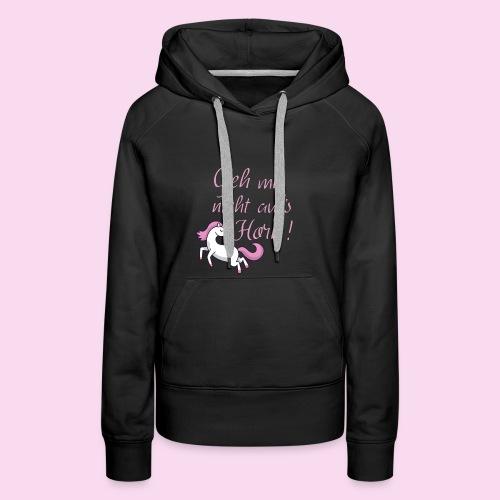 Unicorn Accessoires - Frauen Premium Hoodie