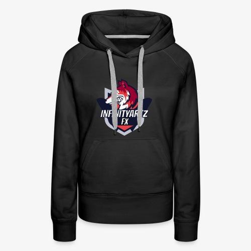 InfinityArtz FX YouTube Logo - Frauen Premium Hoodie