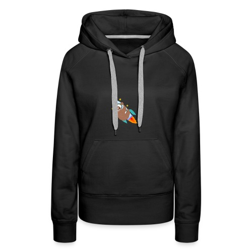 Space Bound Sloth - Women's Premium Hoodie